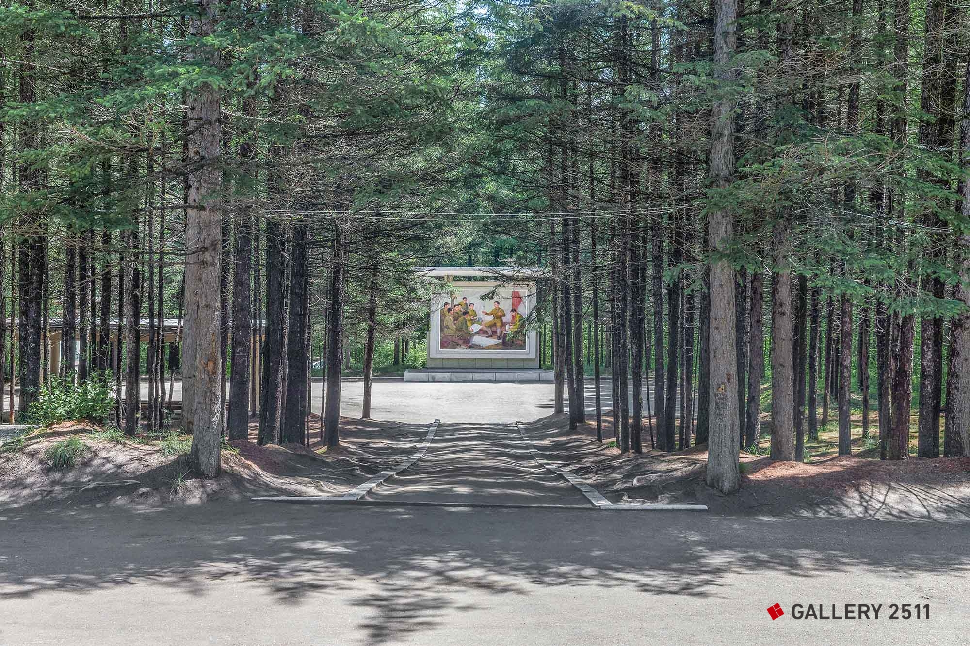 24.Propaganda poster in the forest  2014/06